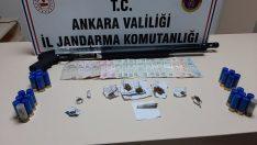 Ankara'da uyuşturucu ticareti yapan 3 kişi yakalandı