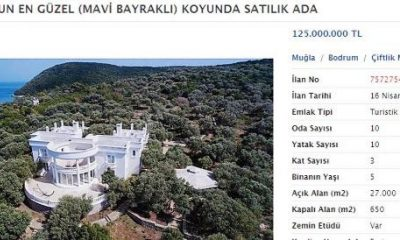 Bodrum'da satılık ada
