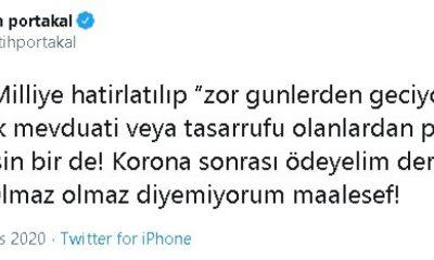 Cumhurbaşkanı Erdoğan'dan Fatih Portakal'a suç duyurusu