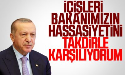 Cumhurbaşkanı Erdoğan'dan Süleyman Soylu açıklaması