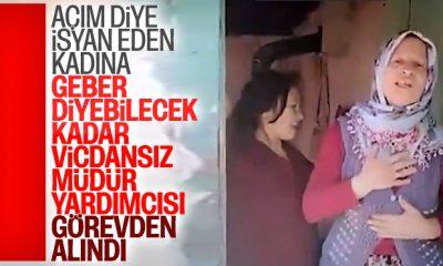 Dilenen kadına 'geber' diyen Nail Noğay görevden alındı