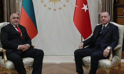 Erdoğan, Bulgaristan Başbakanı Borisov ile görüştü