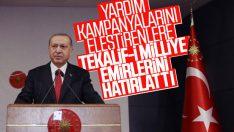 Erdoğan'dan 'Tekalif-i Milliye' emirleri vurgusu