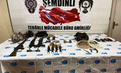 Hakkari'de terör örgütüne ait sığınak bulundu