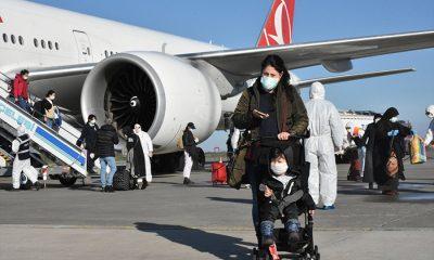 Hollanda'dan 349 Türk vatandaşı Samsun'a getirildi