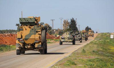 İdlib'de Türk-Rus birleşik kara devriyesi yapıldı