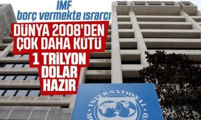 IMF: Koronavirüs krizi 2008'den daha ağır
