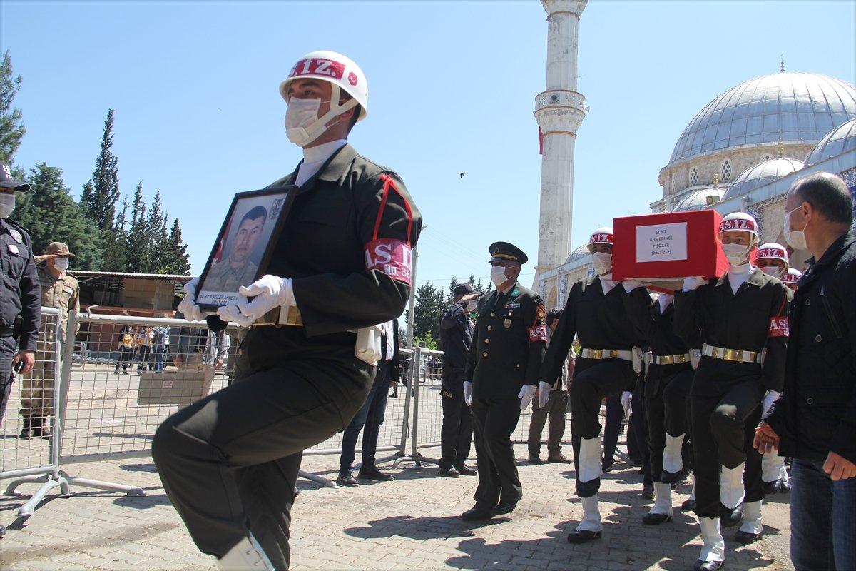Irak şehidi son yolculuğuna uğurlandı