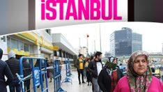 İstanbul'da yardım parasını almak isteyen PTT'ye koştu