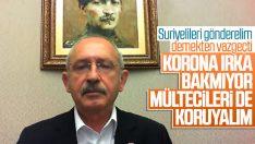 Kılıçdaroğlu Suriyelilerin unutulmamasını istedi