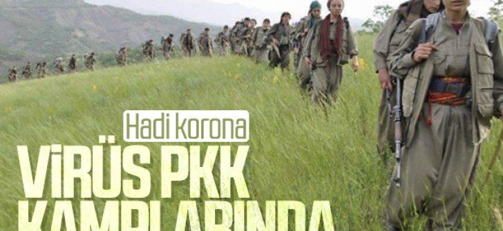 Koronavirüs PKK kamplarına da sıçradı