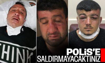 Küçükçekmece'de polise saldıranların son hali
