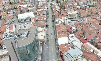 Malatya'da sokağa çıkanlara drone ile uyarı