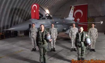 Mehmetçik de İstiklal Marşı okudu