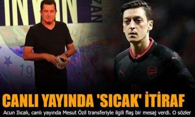 Mesut Özil'den rest, 'O paraya Fenerbahçe'de oynarım'