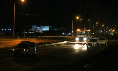 Tekirdağ'da araç çarpan 2 kişi öldü