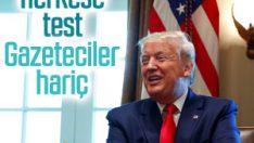 Trump ile aynı ortamda olacaklara korona testi şartı