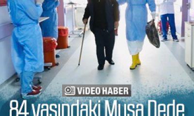 Tunceli'de 84 yaşındaki hasta koronavirüsü yendi