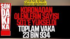 Türkiye'de koronadan 76 kişi daha hayatını kaybetti