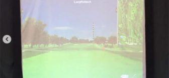 Ünlü golfçüden karantina çözümü!