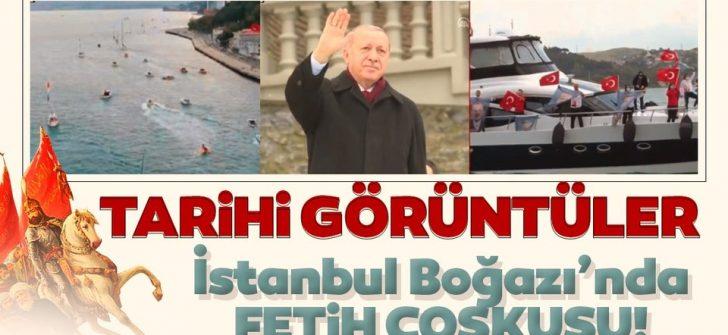 İstanbul'da fetih coşkusu!