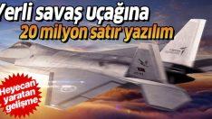 Milli savaş uçağı için yazılım çalışmaları başlıyor!