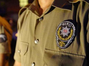 Genç kızı darbettiği iddia edilen Bekçi görevden uzaklaştırıldı