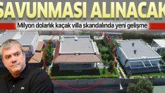 Sözcü yazarı Yılmaz Özdil'in kaçak villa skandalında yeni gelişme! Hülya Özdil'in savunması alınacak