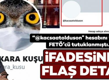 """Hüseyin Yılmaz'la, """"Ankara Kuşu"""" adlı hesabı kullanan Oktay Yaşar'ın birbiriyle bağlantısı çıktı"""