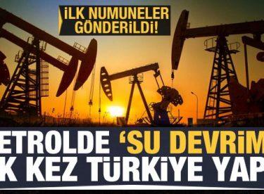 İlk kez Türkiye'de kullanıldı