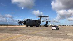 Tıbbi yardım taşıyan uçağımız Mogadişu'ya indi