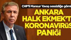 Ankara Halk Ekmek'te koronavirüs paniği