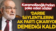 """""""Darbe söylentilerini AK Parti çıkarıyor"""" deseydin bari!"""