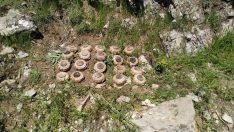 PKK'ya ait 20 adet  mayın ele geçirildi