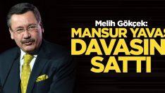 Mansur Yavaş davasını sattı