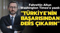 Türkiye'nin başarısından ders çıkarın