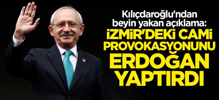 Cami provokasyonunu Erdoğan yaptırdı
