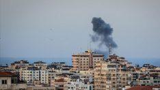 İsrail Gazze'ye saldırdı!