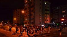 Bando takımı sahur için sokaklarda