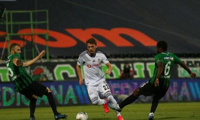 Beşiktaş'tan Denizli'de 5 gollü galibiyet