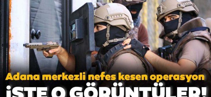 Adana merkezli 4 ilde uyuşturucu operasyonu!