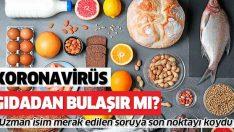 Koronavirüs gıdalardan bulaşır mı?