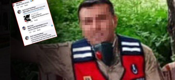 Atatürk'e hakaret eden astsubay görevden uzaklaştırıldı