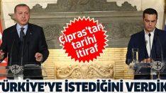 Yunanistan eski Başbakanı Aleksis Çipras'tan tarihi itiraf: Türkiye'ye istediği şeyi verdik