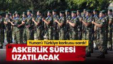 Yunan'ı Türkiye korkusu sardı! Askerlik süresi uzatılacak