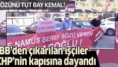 Ekrem İmamoğlu'nun işten çıkardığı işçiler CHP Genel Merkezi'nin kapısına dayandı!