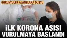 İlk Korona Aşısı Vurulmaya Başlandı