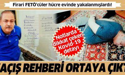 Firari FETÖ'cülerin hücre evinden kaçış rehberi çıktı