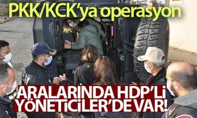 PKK/KCK'ya şafak operasyonu