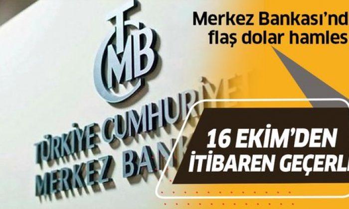 Merkez Bankası'ndan flaş zorunlu karşılık kararı!